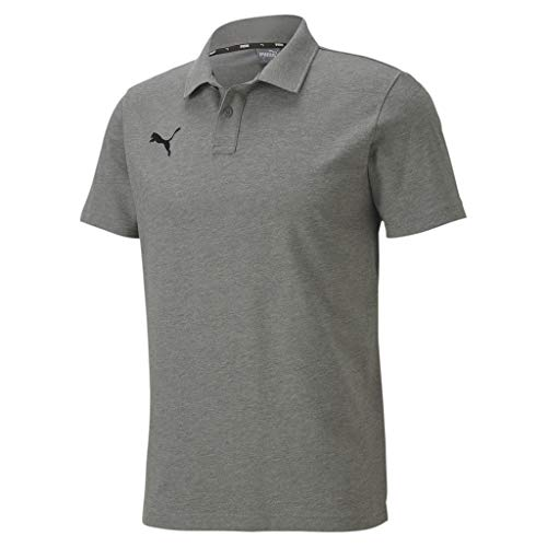 PUMA Herren Poloshirt, Medium Gray Heather, XXL