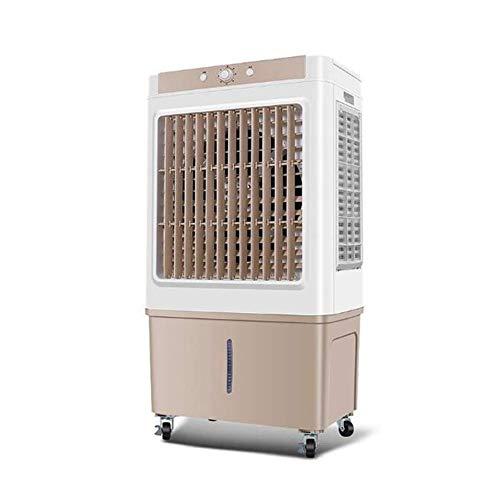 Refrigerado Individual Ventilador De Aire Acondicionado, Con Rodillo Enfriadores Por Evaporación Uso En El Hogar Tanque De Agua De Gran Capacidad Filtrar A Prueba De Polvo Adecuado Para Fábrica Granja