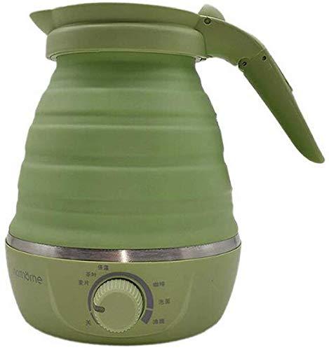 Bouilloire électrique Voyage avec automatique double tension et sécable du cordon d'alimentation, rapidement Faire bouillir en seulement 4 minutes, facile de rangement pratique, pot d'eau for le lait