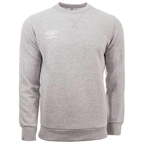 Umbro Fleece Small Logo Sweat Herren-Sweatshirt XL grau