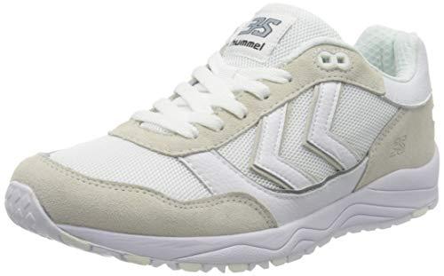 Hummel 3-s, Zapatillas Unisex Adulto, Blanco (White 9001), 44 EU