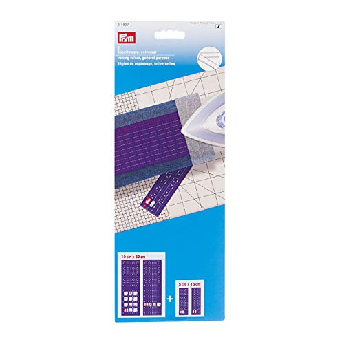 Prym 611937 Bügellineale universal Lineal