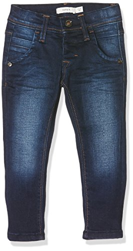 NAME IT Jungen NITTOGO XSL DNM Pant NMT NOOS Jeanshose, Blau (Dark Blue Denim), 110