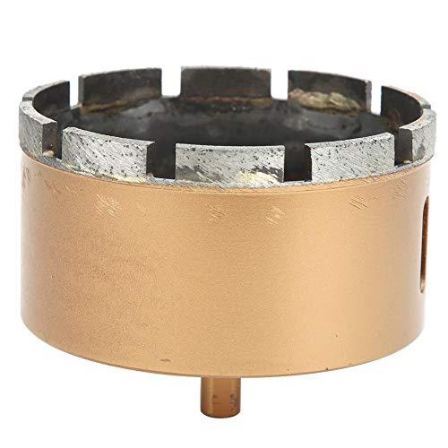 Broca de núcleo Longitud 80 mm / 3,1 pulgadas Broca de taladro Sierra modelo 90 mm, 100 mm de diámetro 9,4 mm / 0,4 pulgadas para azulejos de vidrio(100mm)
