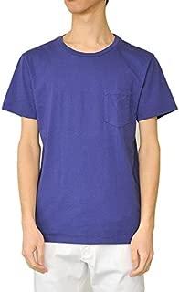 Freeseam フリーシーム ラウンドネックポケットTシャツ (NAVY)