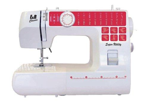 E&R Classic NT22 Freiarm Nähmaschine mit 22 Programmen