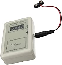 Agile-shop RF Remote Control Wireless Frequency Meter Counter 250-450MHZ Detector Cymometer