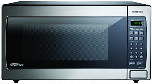 Panasonic NN-SN773SAZ Stainless 1.6 Cu. Ft. Countertop Built-In Microwave with Inverter Technology,...