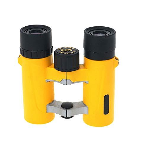 XiaoDong1 HD-Ferngläser Mit Hoher Vergrößerung for Erwachsene, Wasserdicht for Seekreuzfahrten, Vogelbeobachtung Wandern Jagd Voll Mehrfach Beschichtet, Autofokus Gelb (Farbe : Yellow)