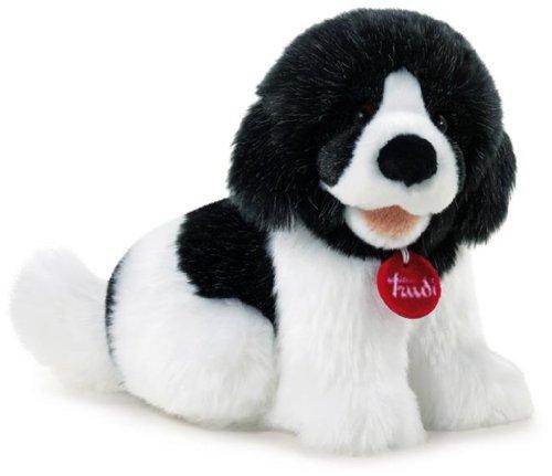 Trudi Sevi - 122541 , Giocattolo prima infanzia, Tolomeo, cucciolo di Terranova, Peluche