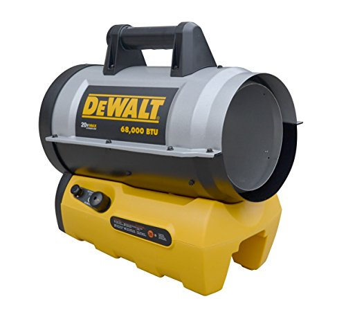 DeWALT DXH70CFAV 68,000 BTU Cordless Forced Air...