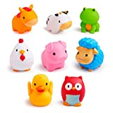Product Image of the Munchkin Squirtin Bath Toy, Barnyard Friends