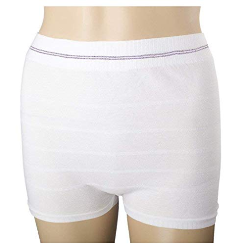 Women Mesh Postpartum Panties Washable Underwear for Post Surgical Recovery