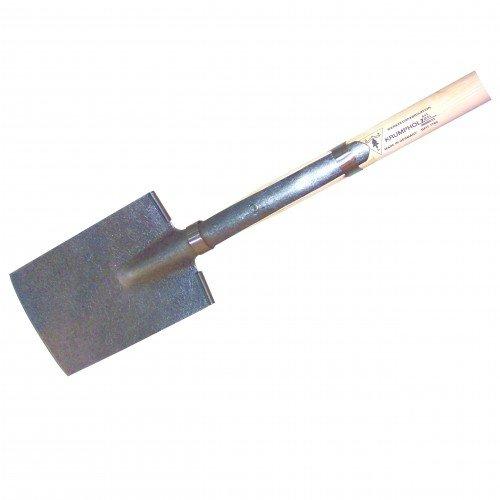 Krumpholz Rodespaten Blattmaß 285x180mm Gr.2 m.T-Stiel Stiel-L.950mm 2800g PROMAT
