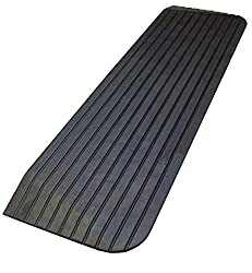 in budget affordable RK Safety RK-RTR02 Roller Sleeper (for wheelchairs) 1.5 inch tilted solid rubber (1 piece)