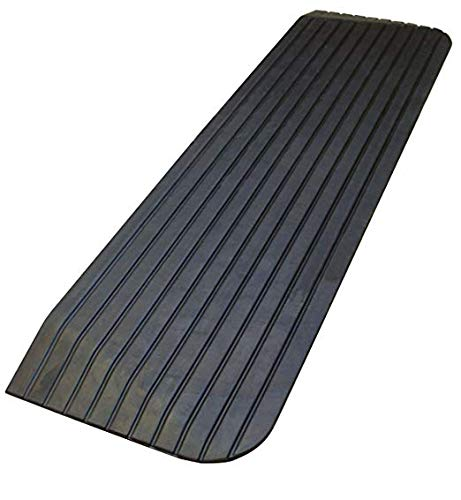 Troy Safety, RTR02, Solid Rubber Power Wheelchair Scooter Threshold Ramp (43