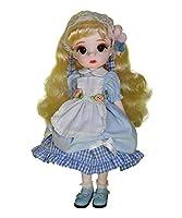 フォーチュンデイズ1/6 BJD人形、12インチ28ボールジョイントヘア移植人形、フルセットの服靴、女の子への最高の贈り物 (Lantian)