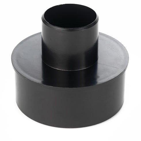 Absaug Maschinenanschluss - 100 auf 50 mm Reduzierstück