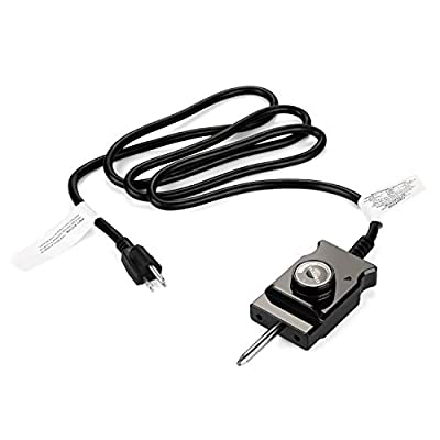WADEO Adjustable Controller Thermostat Probe Cord for Electric Skillet Cord Replacement and Most of Outdoor Cooking Electric Smokers and Grills Heating Element