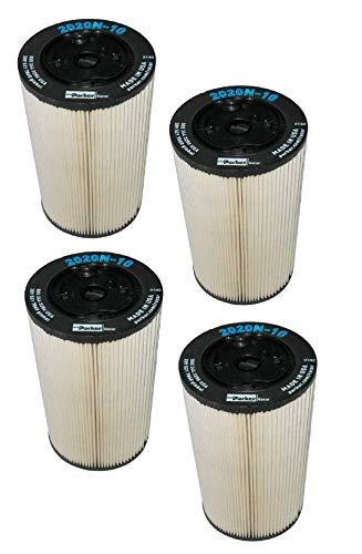 2020N-10 Parker Racor Fuel Filter Element (Pack of 4)
