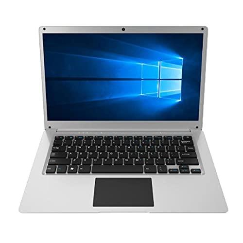 Petrichori 14.1 Pulgadas 4GB RAM 64GB ROM Apollo Lake N3350 CPU Notebook Windows10 Laptop Student Netbook con línea WiFi para Estudiantes - Plata + Negro