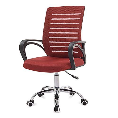 YYZZ Silla de Oficina ejecutiva con Respaldo Alto Silla de Escritorio giratoria Diseño ergonómico,...
