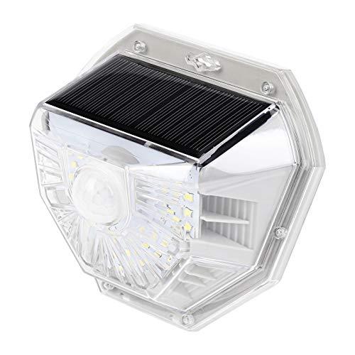 LED ソーラーライト 人感センサーライト 太陽光発電 屋外照明 玄関 廊下 軒先 駐車場 大活躍 防水 防犯ライト 両面テープ付き 取付簡単