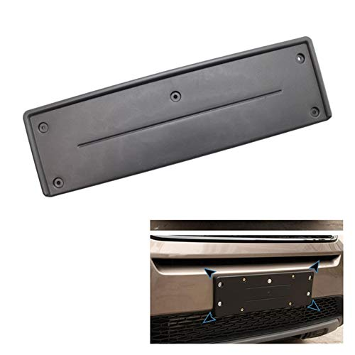 ZHANGWUNIU WUZ Store License Plate Holder Front Plastic License Plate Fit For Land Rover Range Rover Sport LR3 DRB500021PCL (Color : Black)