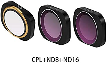 RONSHIN MCUV CPL NDPL ND64-PL ND32-PL ND4 ND8 Camera Lens Filter Kit for DJI OSMO POCKET Gimbal Accessories CPL ND8 ND16