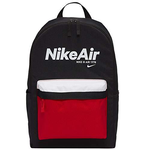 Nike NK Heritage BKPK-2.0 NKAIR, Black/University Red/(White), misc