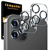 UniqueMe [2 Pezzi] Pellicola Fotocamera compatibile con iPhone 12 Pro 6.1 Pollici Protezione Lente Pellicola Posteriore, Vetro Temperato 9H [Bubble Free] compatible with iPhone 12 Pro