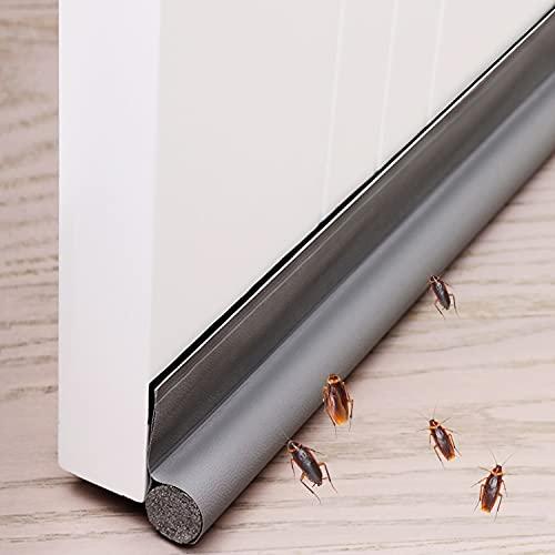 Xnuoyo Zugluftstopper Einseitiger TüRbodendichtung Luftzugstopper Wird in Räumen, Küchen und Badezimmern Verwendet und Kann Wind, Staub, Insekten und Schalldämmung Wirksam Verhindern.