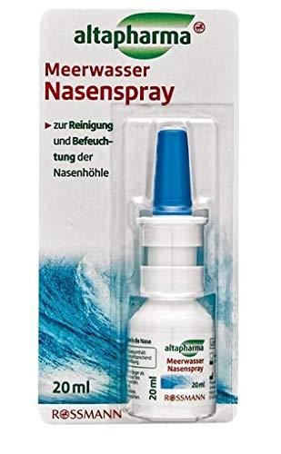 Meerwasser Nasenspray - Zur Reinigung und Befeuchtung der Nasenhöhle - 20 ml