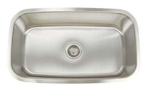 Big Sale Best Cheap Deals Artisan AR3118-D9 Premium Series Stainless Steel Undermount Single Bowl Sink