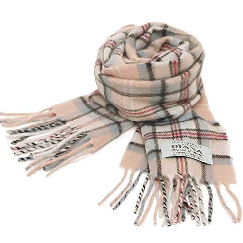 [ロキャロン] Lochcarron of scotland 英国スコットランド製 マフラー カシミヤ100% ダイアナ プリンセスオ...