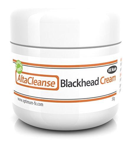 AltaCleanse Crema Anti Puntos Negros Para Los Puntos Negros Las Manchas y La Piel Problemática Sin Parabenos - 50 Gramos