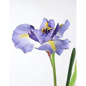Silk Flower Arrangements ShineBear 90cm High Artificial Iris Flower Silk Flowers Wedding Party Home Decor 3pcs / lot