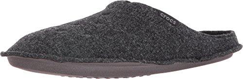 Crocs Classic Slipper, Unisex-Erwachsene Niedrig, Classic Slipper, Schwarz (Black/Black), 38/39 EU