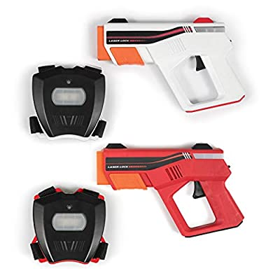 Rec-Tek Duel Shooting Laser Tag Game for Kids - Features Automatic Scoring - Complete with All Accessories from East Point