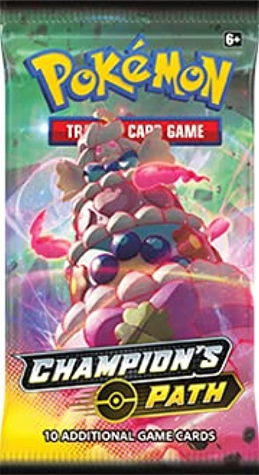 Pokemon Official: Champions Path Booster Pack