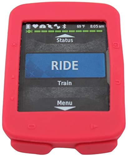 Funda compatible con Garmin Edge 520 Plus – Funda protectora de silicona – Accesorios de ordenador para bicicleta GPS (rojo)