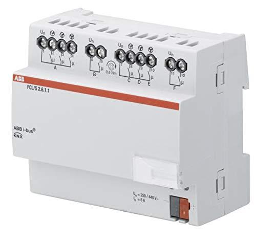 Niessen - Actuador ventilador fan coil 2 canales 6a