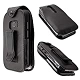 caseroxx Leather-Case with belt clip for Doro 6040 made of