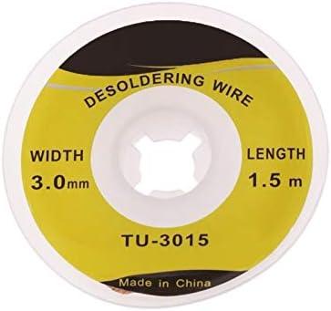 Tool Parts 1.5m TU-3015 Max 53% OFF 3.0mm Arlington Mall Fluxed Desoldering Wick Soldering