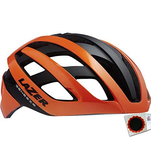 keine Angabe Lazer Helm Genesis Gr. L 58-61cm Flash orange Fahrrad
