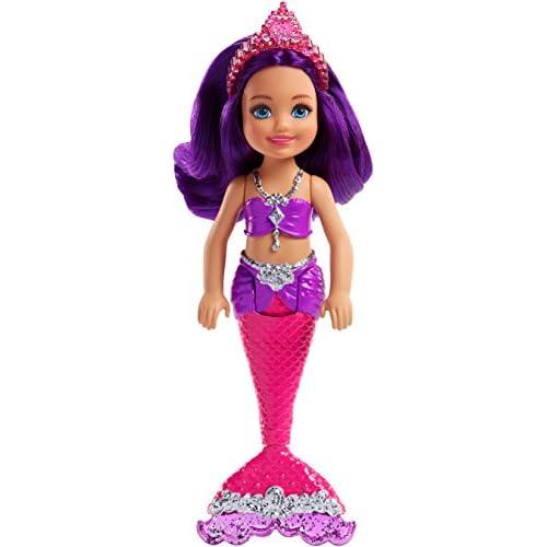 Barbie, Mini Sirena Dreamtopia FKN06: Chelsea dalle Pietre preziose