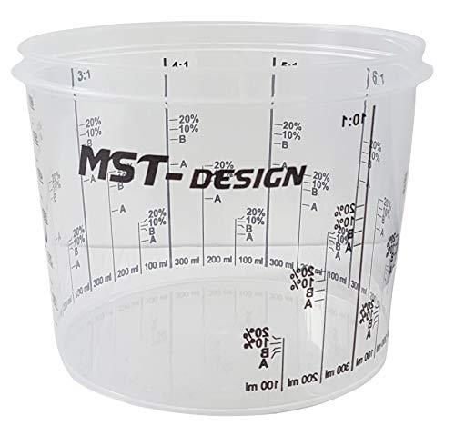 MST-Design e.K. UT-FIO4-ZOLB Lackmischbecher 0,385L Karton-200 Stück
