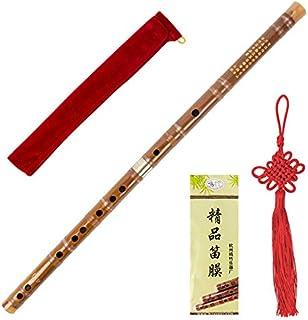 Traditional Handmade Chinese Musical Instrument Vintage Bamboo Flute Dizi (G key)