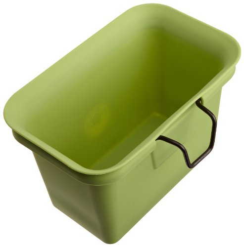Best Price! Full Circle Scrap Happy Food Scrap Collector and Freezer Compost Bin, Green