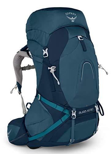 Osprey Aura AG 50 S Women Trekking Mochila Azul